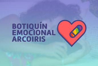 Botiquín Emocional Arcoiris: Consejería y primeros auxilios psicológicos con enfoque afirmativo