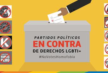 Elecciones 2020 | Partidos en contra de Derechos LGBTIQ+