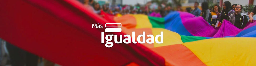 Banner -  Más Igualdad Perú - ONG derechos - LGBTI