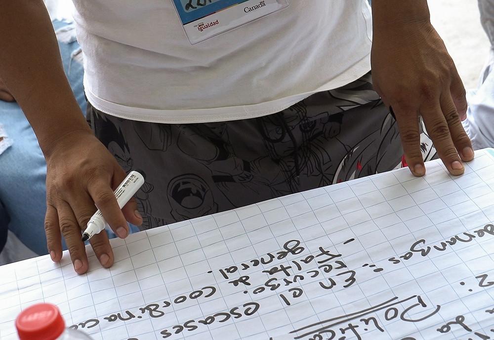 Asamblea con activistas LGBTIQ+ de Iquitos