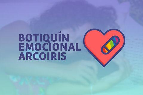 Botiquín Emocional Arcoiris - Más Igualdad Perú - ONG derechos - LGBTI