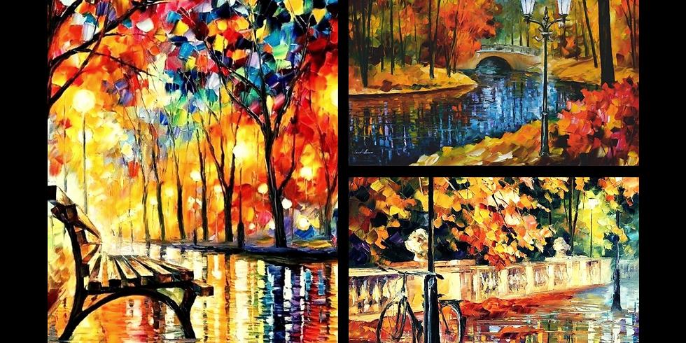 """Арт-вечер по живописи """"Осень"""", акрил"""