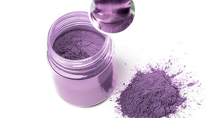 Металлический пигмент для эпоксидной смолы, Бледно-фиолетовый