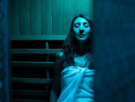 Our Infrared Sauna is OPEN