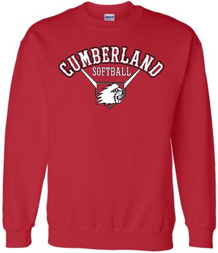 CHS Softball Crew Sweatshirt