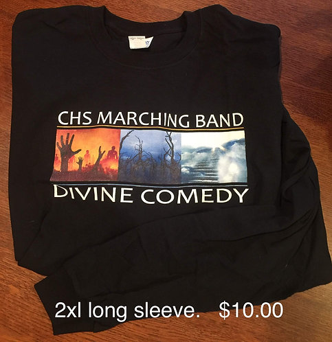 Band Long Sleeve T - Divine Comedy Season