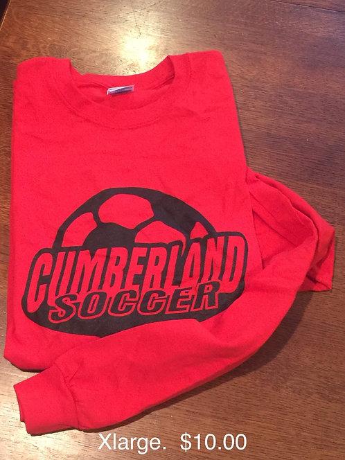 Cumberland Soccer Long Sleeve T