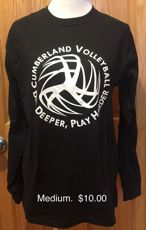 Volleyball T LS - Blk