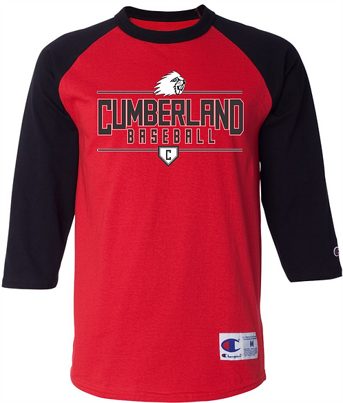 Cumberland Baseball Raglan