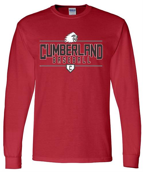 Cumberland Baseball T-Shirt Long Sleeve