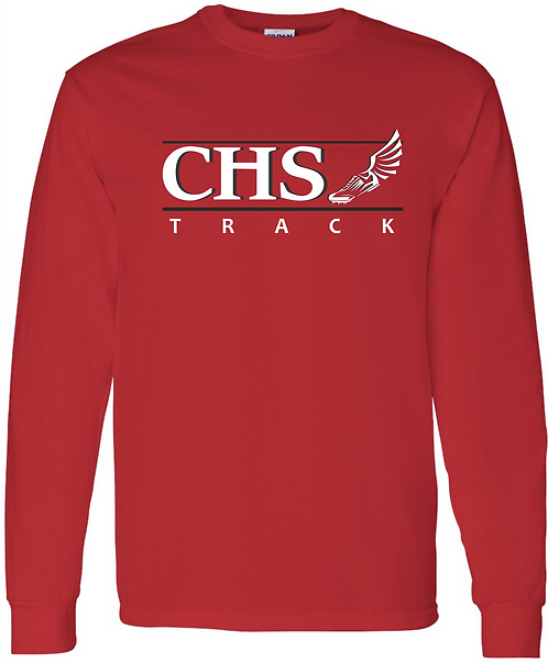 CHS Track Long Sleeve T