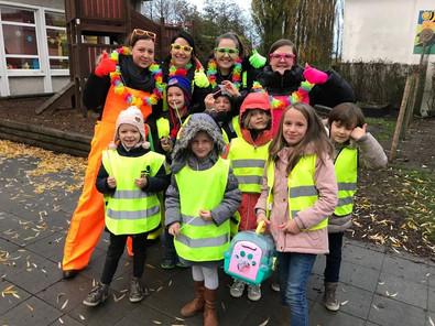 Fluobrigade Basisschool De Regenboog Ertvelde valt in de prijzen!
