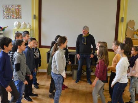 Poëtische dialoog met burgemeester Bruggeman