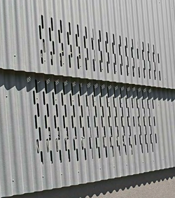 Perforated + Corrugated