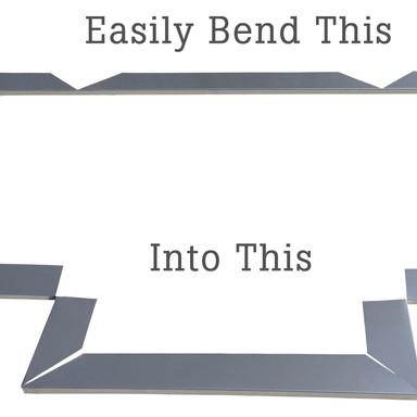 Metal Corner, Drip Edge, & Termination Bar