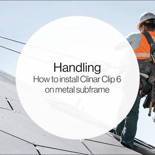 Clinar Clip Installation