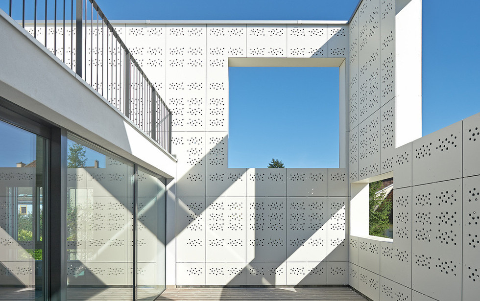Swisspearl Perforated Fiber Cement