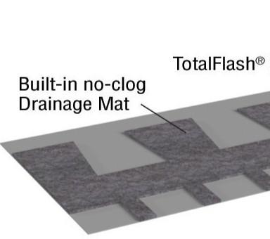TotalFlash Roll Masonry Cavity Wall Drainage Solution