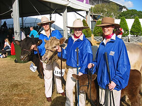 Cowgirls at the Easter Show