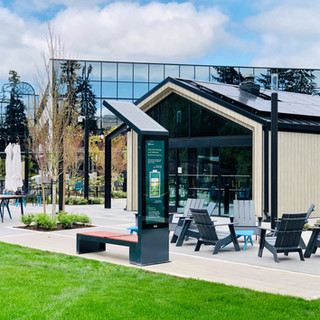Smart Solar Bench Microsoft HQ