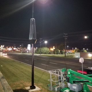 Smart Solar Street lights: USA
