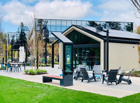 New Smart Solar powered benches & tables