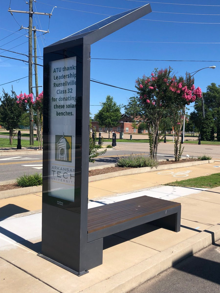 smart solar bus stop