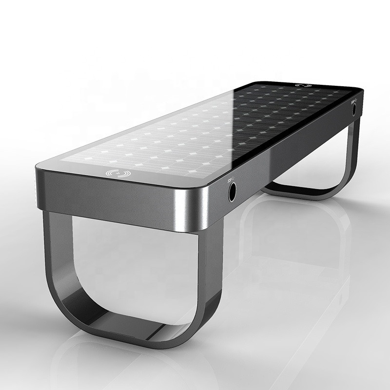 smart solar powered bench model S