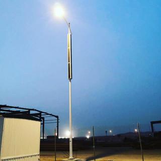 vertical_solar_powered_street_light_pole