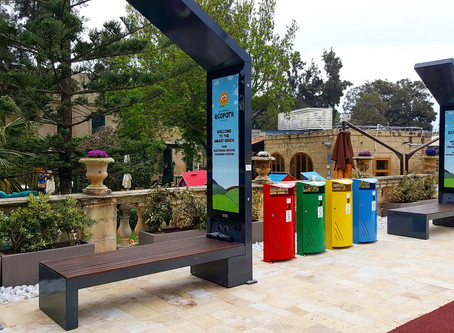Smart solar powered bench-Trends and prices