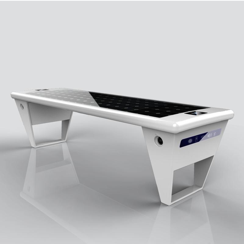 smart solar bench model x