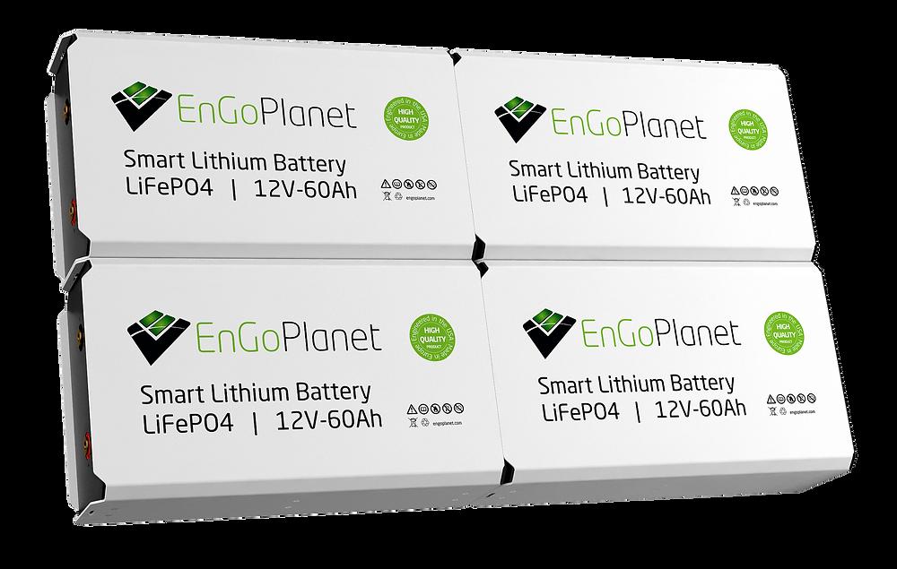 lifepo4 lithium battery for solar renewable energy storage