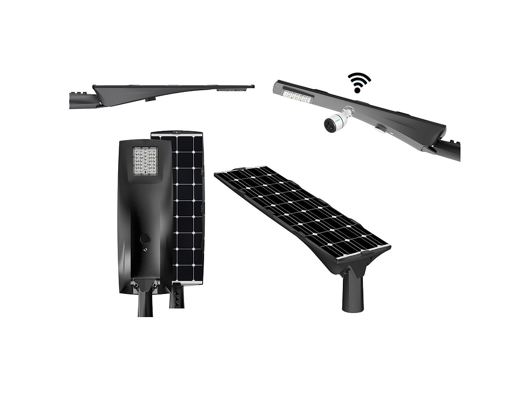 dark sky approved solar street light