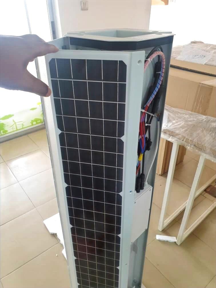 Vertical Solar Streetlight module