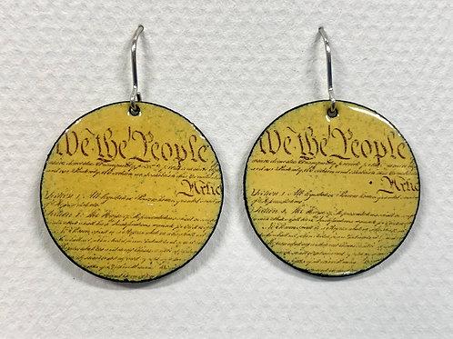 Constitution Earrings