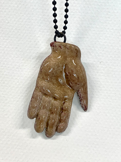 Formed Hand Pendant