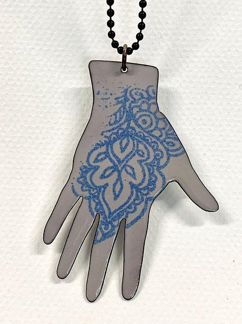 Large Hand Pendant