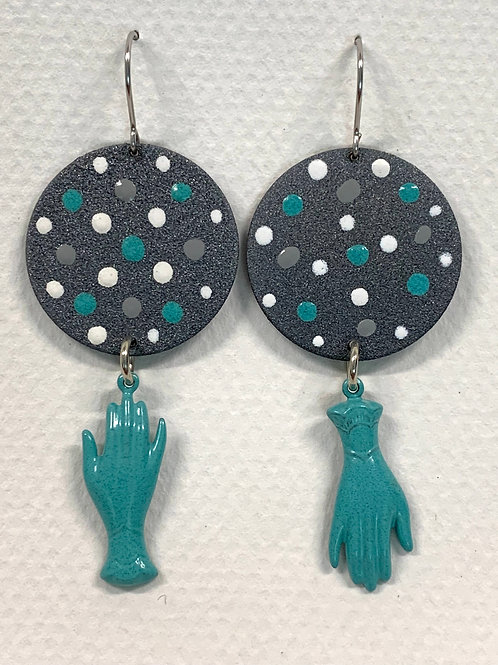 Hand Drop Earrings