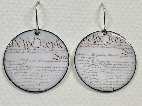 Constitution Earrings