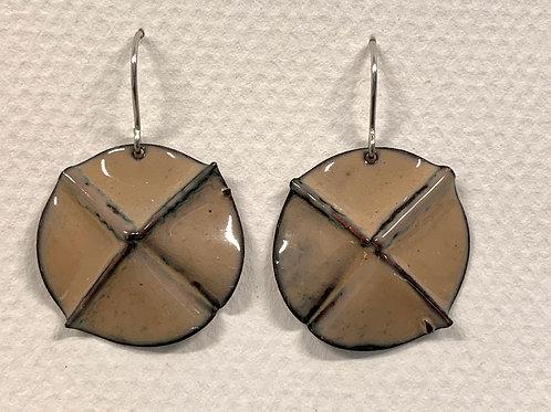 Enamel Fold Earrings