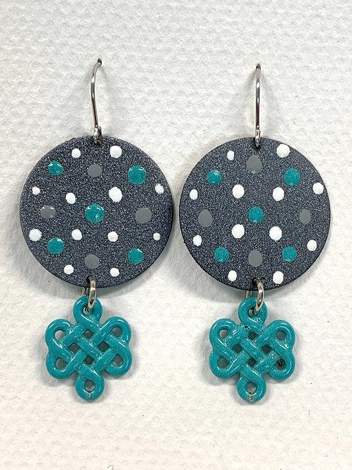 Celtic Drop Earrings