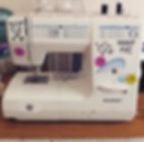 hissy fit sewing machine handmade