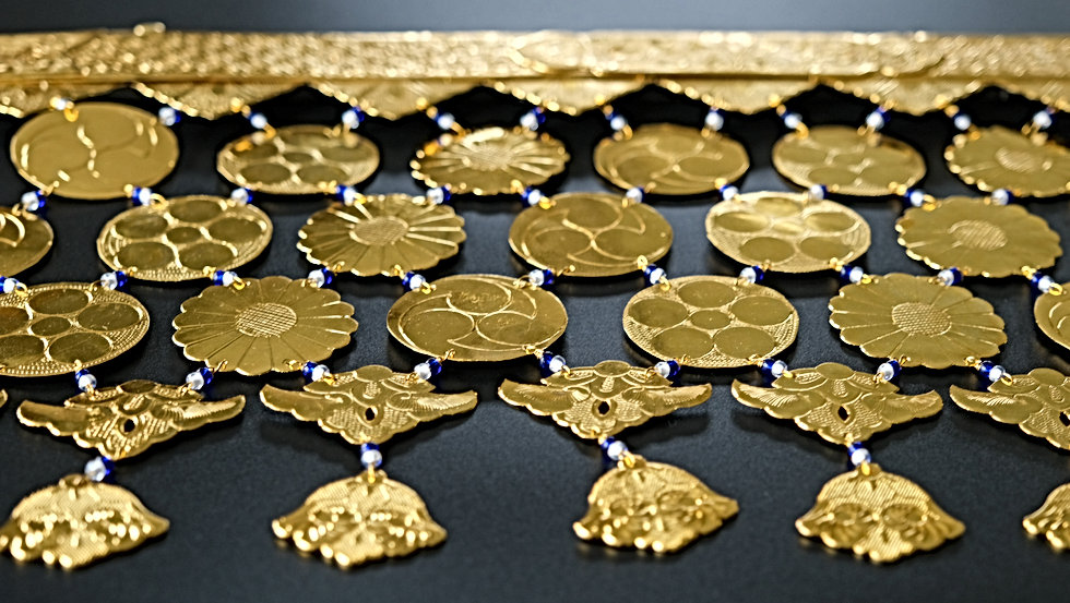 仏壇金色錺金具修復・製造