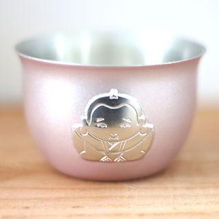 銅製デザインお猪口