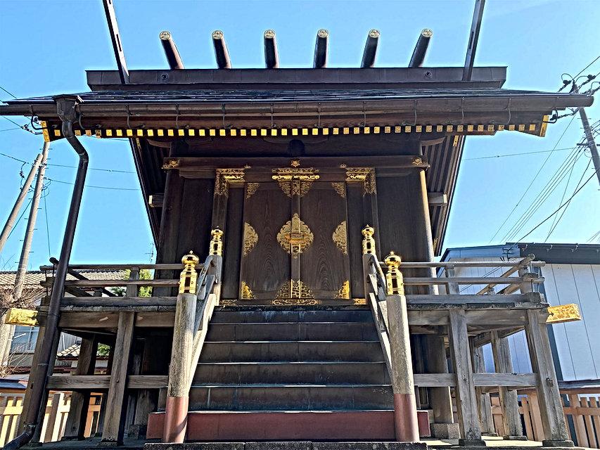 神社お寺金色錺金具修復