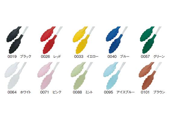 田辺金具 カラー樹脂トング_バリエーション