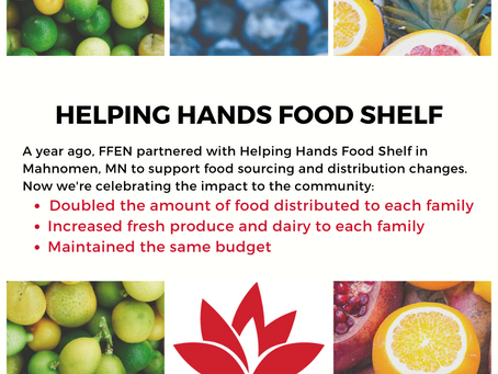 A Year Later: Helping Hands Food Shelf