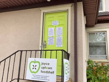 Joyce Uptown Food Shelf: Increasing Food Choices Safely