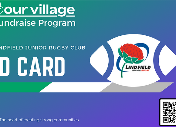 Lindfield Junior Rugby Fundraising ID Card