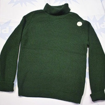 POP Green Roll Neck Jumper